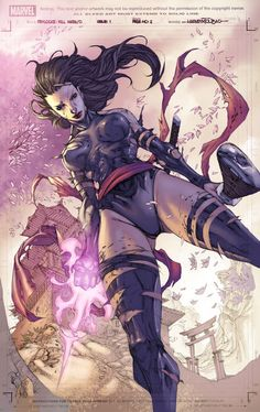 Psylocke by romulofajardojr on deviantART