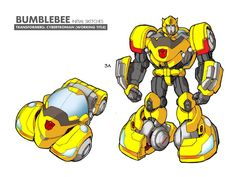 IDW Andrew Griffith Bumblebee And Starscream Concept Art - Transformers News - TFW2005