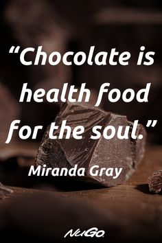 Chocolate is good for your health when it is real dark chocolate! Chocolate Delight, I Love Chocolate, Chocolate Ice Cream, How To Make Chocolate, Chocolate Lovers Quotes, Chocolate Humor, Eid Poetry, Small Business Quotes, Baking Quotes