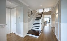 Image result for hampton style staircase