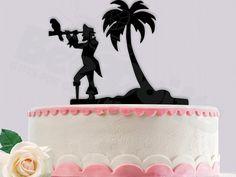 Pirate Birthday Cake Topper