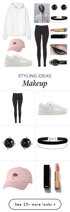 """October Concert"" by emmakeefe on Polyvore featuring Maison Scotch, Irene Neuwirth, Miss Selfridge, Chanel and Mehron"