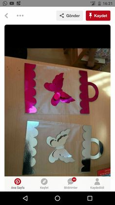 Diy And Crafts, Crafts For Kids, Paper Crafts, Montessori, Activities For Kids, Origami, Kindergarten, Valentines, How To Plan