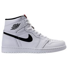 4b2bb546d5f526 NIKE MEN S AIR JORDAN RETRO 1 HIGH BASKETBALL SHOES