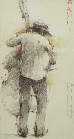 Awesome illustration by Andre Kohn! Life Drawing, Figure Drawing, Drawing Sketches, Painting & Drawing, Art Drawings, Sketching, Drawing Lessons, Art Du Croquis, Pencil Art