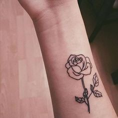 #tattoo #tattoos #littletattoos #rosetattoo #rose
