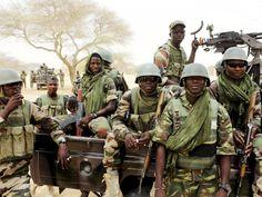 Forças especiais da Nigéria preparam-se para enfrentar o Boko Haram em Diffa