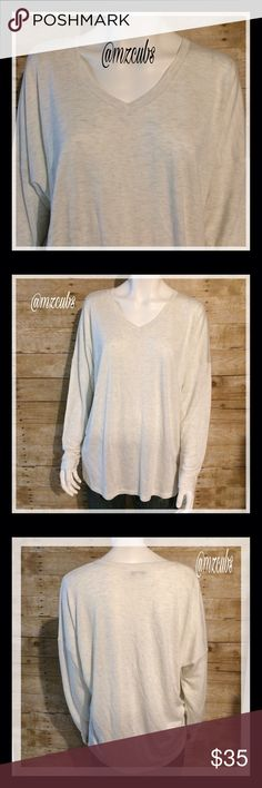 Cabi Heather Oatmeal Serene Tee EUC. 🚫Please, no offers. Fall 2014. 100% viscose. Hand washed cold and laid flat to dry. May also be dry cleaned. Style 952. Pair with leggings or denim for a casual look or with a maxi skirt and bold necklace for a dressier look. Thicker material than a tee. Great staple piece for any closet! 💰I offer a 10% bundle discount on 2 or more items. CAbi Tops Tees - Long Sleeve