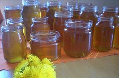 Pampeliškový sirup Mason Jars, Syrup, Canning Jars, Glass Jars, Jars, Mason Jar