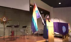 Despite Rainbow Flag Thefts, This Church Is Still Devoted To The LGBT Community