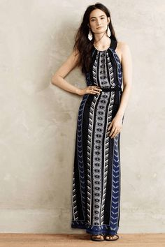 Love the Cynthia Vincent Silk Racerback Maxi Dress on Wantering.