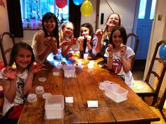 The most creative party! Host in our academies or at your home!