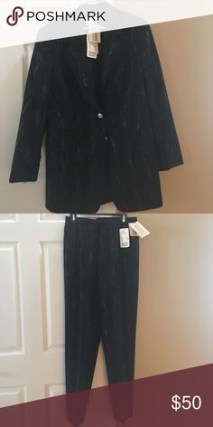 Escada Black and silver pant suit New with tickets Escada Other