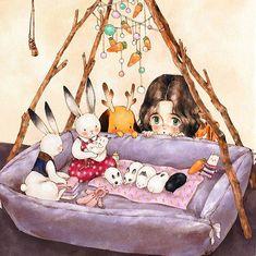 Дневники лесной девочки: 49 потрясающих иллюстраций от Aeppol - Ярмарка Мастеров - ручная работа, handmade