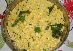 Moong dhal Sundal(Payitham paruppu sundal)   Subbus Kitchen