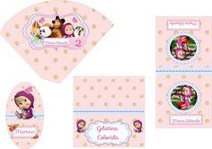 masha eo urso - Pesquisa Google Bear Birthday, 4th Birthday, Birthday Parties, Birthday Ideas, Masha And The Bear, Bear Party, Baby Shower, Little Princess, Birthday Decorations