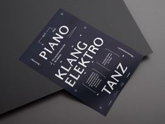 A5 flyer and poster announcing a party playing minimal techno and organ concerts in an old church in st. gallen. by kasper-florio - designboom | architecture & design magazine