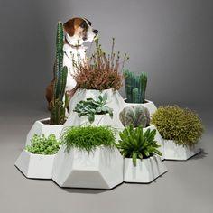 Jardín modular tiestos de cerámica MA-CE-TA | Pottery Projects | CoolMaison