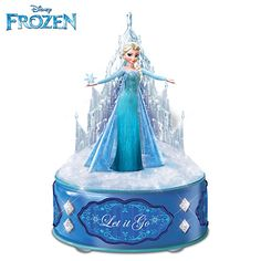 Dear my like nine siblings: I must own this! Let It Go Music Box I LOVE THIS! Christmas/birthday??? ;)