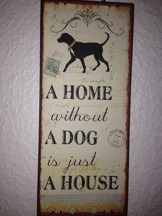 no dog no home