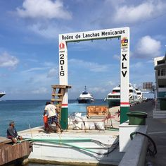 This annual sport fishing tournament in Cozumel is huge - and I hear the prize money is, too.