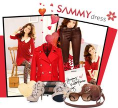 """""""Happy V Day"""" by polybaby ❤ liked on Polyvore"""
