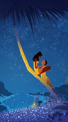 Cutesy Couple Cartoons : Pascal Campion