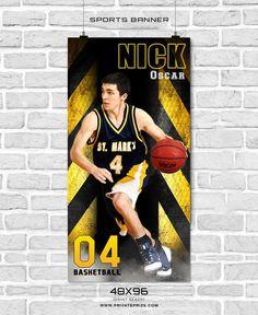 66 best sports banner photoshop templates images on pinterest in nick oscar basketball enliven effects sports banner photoshop template maxwellsz