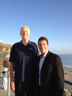 Steve Alford (UCLA coach) and Bill Walton