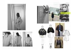 Amandine Piris's student fashion portfolio