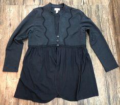Soft Surroundings Shirt Size XL Womens Long Sleeve 50D  | eBay