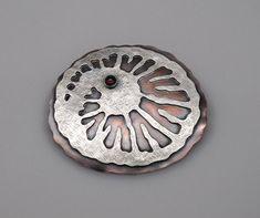 Fossilzed  Copper Sterling Silver & Garnet - ZLeslieJewelry, $180.00 / €142,99.