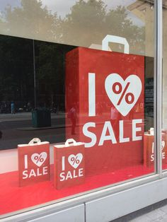 I % SALE, Amsterdam, Holland, pinned by Ton van der Veer
