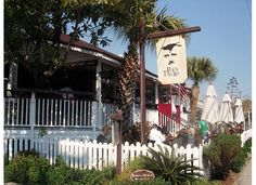 Poe's Tavern, Sullivans Island, SC. Someone please please please take me here this summer. I'll love you forever!!! We'll need a reservation though. I tried to go once, and there wasn't an empty space in the parking lot.