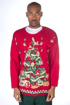 Ugly Christmas Tree Sweater from TheSweaterStore.com