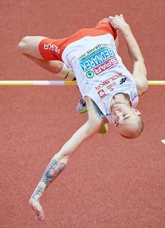 Sylwester Bednarek - złoty medal w skoku wzwyż