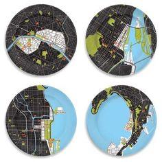 City plates