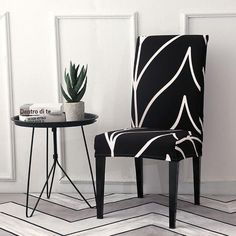 ✨Buy More Save More✨ Decorative Chair Covers – YourTimeStore Dining Room Chair Slipcovers, Dining Chair Covers, Dining Room Chairs, Dining Furniture, Striped Dining Chairs, Accent Chairs, Spandex Chair Covers, Patterned Chair, Stylish Chairs