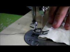 Filme onde eu mostro como preparar uma máquina de costura singer 247 para…