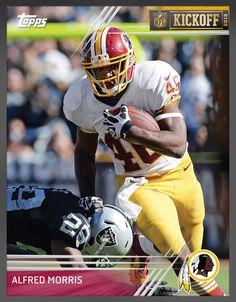 Alfred Morris Washington Redskins (Limited 1,283) Kickoff 2015 Insert Card 2016 Topps HUDDLE