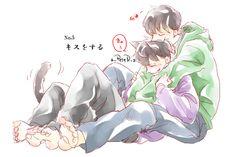 Laughing And Crying, Ichimatsu, Twin Brothers, Shounen Ai, I Am Awesome, Fanart, Fandoms, Cute, Anime