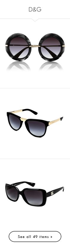 45b34447f52 Gucci Eyewear rainbow round frame sunglasses (£375) ❤ liked on Polyvore  featuring accessories
