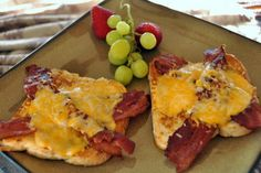 Easy Cheesy bacon and eggs in a blanket.