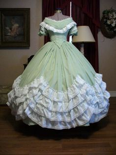 sewing pattern for civil war ball gowns - Google Search