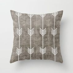 dirty+arrows+Throw+Pillow+by+Holli+Zollinger+-+$20.00 #ThrowPillow