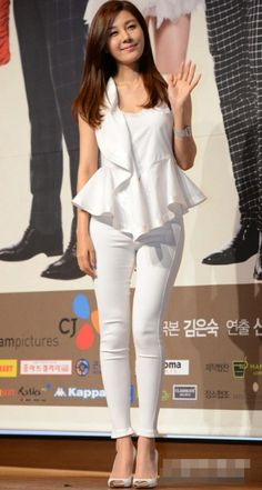 Kim Ha-Neul 김하늘 바지핏