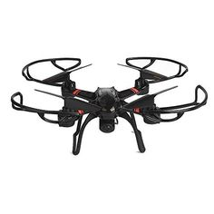 Mini RC Quadcopter Helicopters, Mould King Super-F 4CH 2.4GHz 6-Axis Remote Control Quadcopter with LED Flashing (Black) -- Want to know more, click on the image.