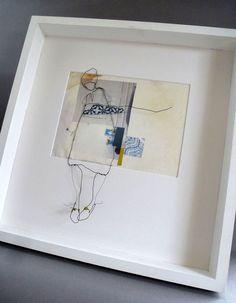 Julia Jowett, Tales of Barbara Moon - Assemblage Art Mixed Media Collage, Collage Art, Creation Art, Art Sculpture, Assemblage Art, Textile Artists, Mix Media, Wire Art, Art Journal Inspiration