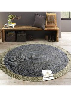 A nice example for the Feng Shui element of Wood with its natural jute material and blue colour. Available in the UAE and KSA online at noon.com. Use my promo code LT7Y for up to 10% discount on this and all noon 'express' items. #ad