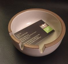 Heath Ceramics Ashtray / Heath Medium White Bowl / California Modern by ModernaireMCMStudios on Etsy